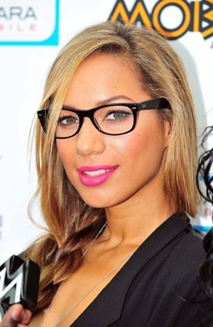 Leona Lewis glasses