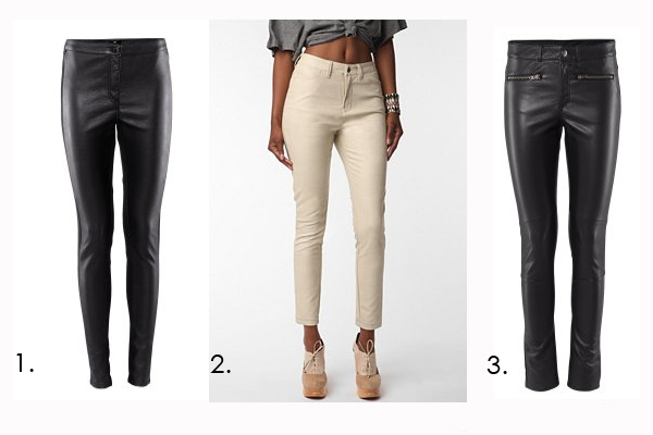 Leather Pants $24.95 H&m 2