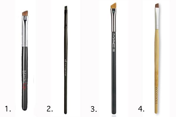 Thinnest Eyeliner Brush Angled Eyeliner Brush