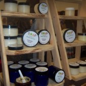Body butters at Soap Therapy booth