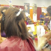 Hair demonstration