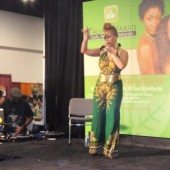 Performer at World Natural Hair Show