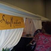 Shea Moisture booth