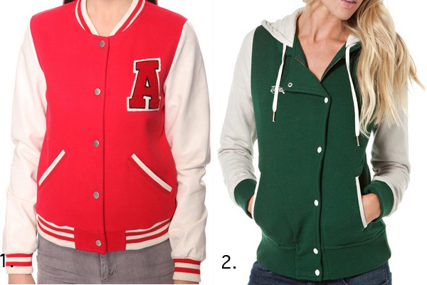 Get Too Cool For School in a Fun Varsity Letterman