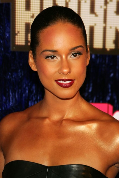 Alicia Keys Dark Lip