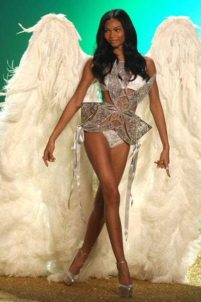 Chanel Iman Victorias Secret Show