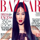 Get The Look: Kimora Lee Simmons on the Cover of 'Harper's Bazaar' Malaysia