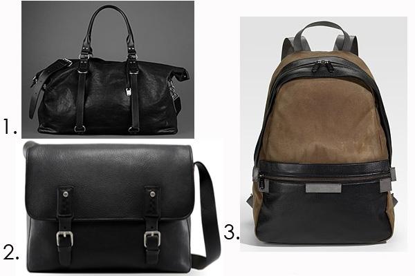 John Varvatos Textured Leather Duffle 1 600 Johnvarvatos 2 Mcm Eternity Man Messenger Bag 3 Marc By Jacobs Trimmed Backpack 348