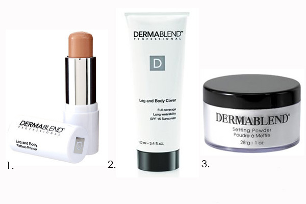 The secret to covering up your tattoo with makeuptalking for Dermablend tattoo cover up video