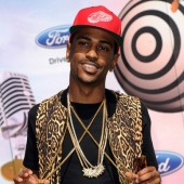 Big Sean in leopard