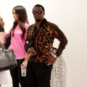 Diddy in leopard