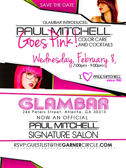 Paul Mitchell Goes Pink at the Glambar