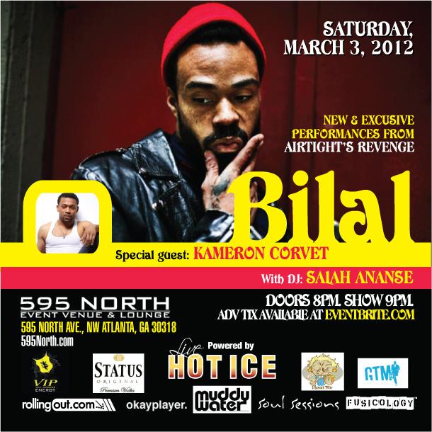 Bilal - Live in Atlanta