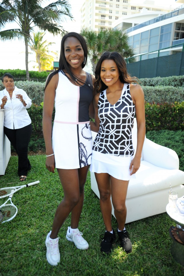 Venus Williams & Gabrielle Union