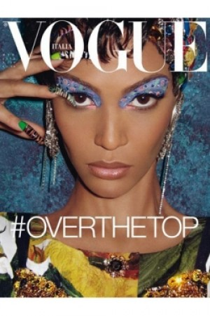 Joan Smalls- Vogue Italia