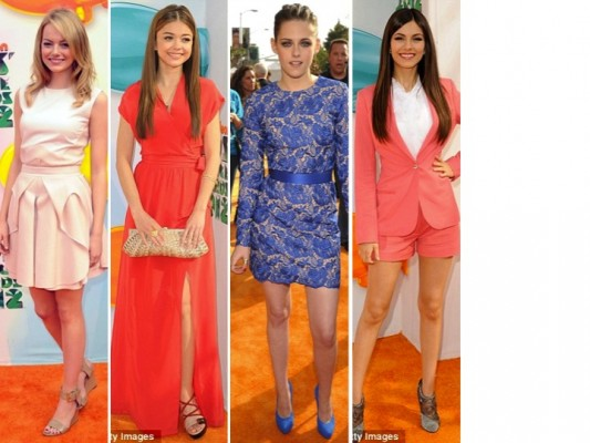 2012 Kids Choice Awards- Best and Worst Dressed