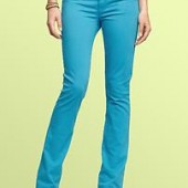 Gap-1969 lightweight skinny boot jeans blue