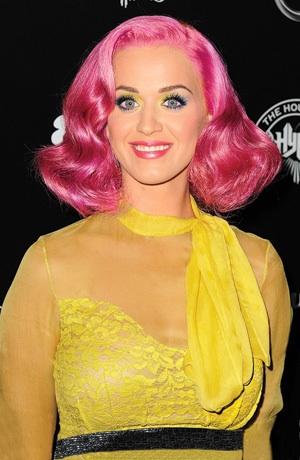 Katy Perrys Colorful Hair Gallerytalking Pretty Talking