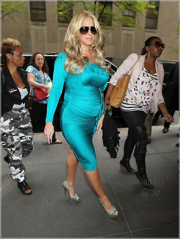 Kim Zolciak at the NBC Studios in NYC