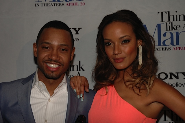 Think Like A Man NY- Terrence J - Selita Ebanks 2