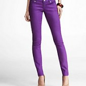 Zelda Jean Legging Purple