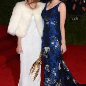 Anna Wintour in Prada , Bee Shaffer in Erdem