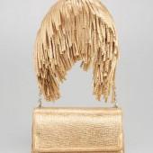 Christian Louboutin Artemis Gaia Fringe Shoulder Bag   $1195