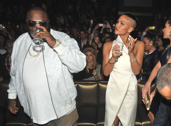 Cassie & Rick Ross- Celebrities in Cannes