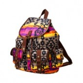 Mossimo Supply Co. Multicolor Stripe Print Backpack   $29.99