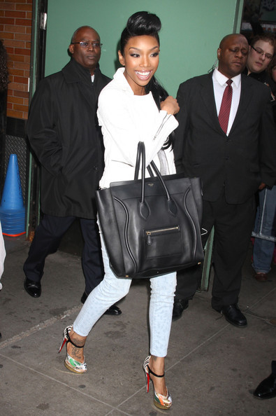 Brandy with Celine bag