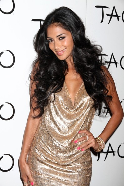 Nicole Scherzinger Celebrates Her Birthday at Tao