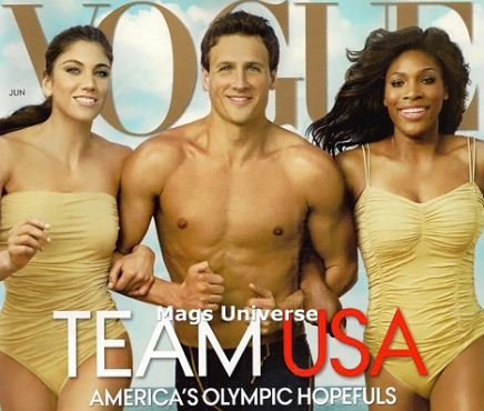 Vogue's Olympic Cover Shoot