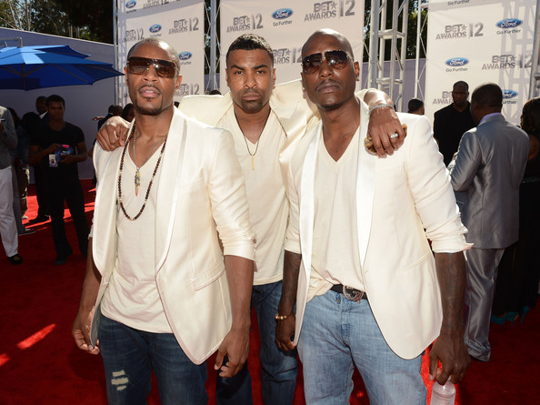 Stylish Men at the 2012 BET Awards