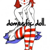 Domestic Doll by Danni B