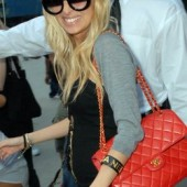Nicole Richie Chanel Classic Flap Bag