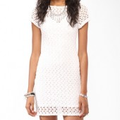 Crochet Knee Length Dress-  Forever 21-  $22.80