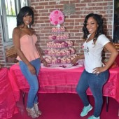 K. Michelle &amp; Erica Dixon of &#8216;Love &amp; Hip-Hop: Atlanta&#8217; Give Back to the Community