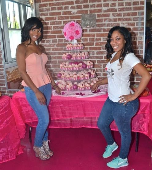 Erica Dixon and K Michelle