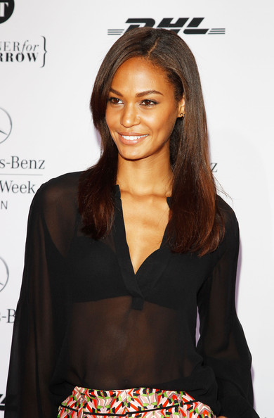Joan Smalls at Mercedes-Benz Fashion Week- Germany