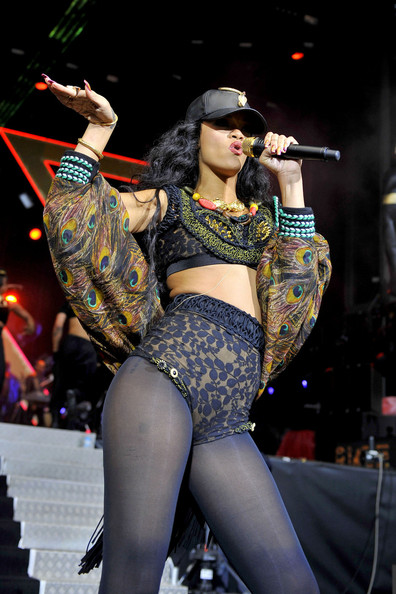 Rihanna at Barclaycard Wireless Festival