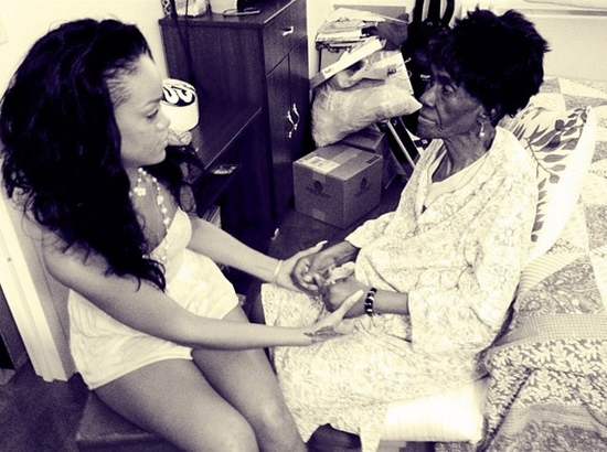Rihanna Grandmother