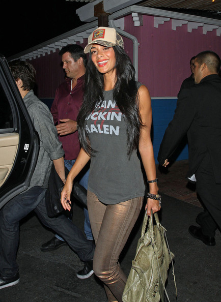 Nicole Scherzinger at Pink Taco in Hollywood