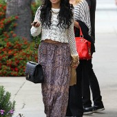 Vanessa Hudgens Chanel Classic Flap Bag