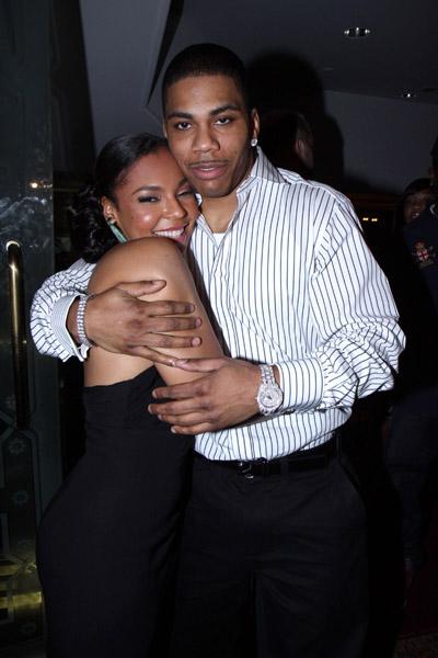 Celebrity Couple Ashanti And Nellytalking Pretty