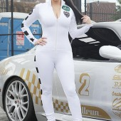 Fashion Trend- The Catsuit- Kim Kardashian