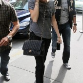 Miley Cyrus Chanel Classic Flap Bag