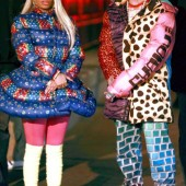 Nick Minaj and Jeremy Scott