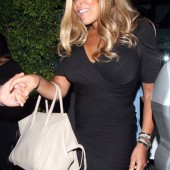 Wendy Williams leaves Mr. Chow in Beverly Hills