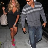 Wendy Williams seen leaving Mr. Chow with husband