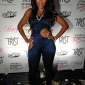 Fashion Trend- The Catsuit- Angela Simmons